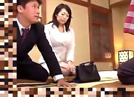 asian husband watching